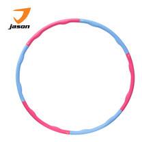 JASON เจสัน Hula Hoop ฮูลาฮูป กระชับหุ่นสวย รุ่น Power Massage JS0366 สีชมพู-ฟ้า