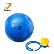 JASON GYM BALL FITNESS EXERCISE 55 cm - BLUE