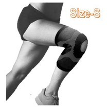 Jason เจสัน ผ้าซัพพอร์ตหัวเข่า แบบเปิด รุ่น Open Knee Black Size S