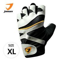 JASON FITNESS GLOVES ถุงมือฟิตเนส รุ่น X-BURNING (ไซส์ XL) - สีดำ/เทา