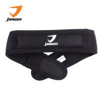 JASON ผ้าซัพพอร์ต ข้อเท้า รุ่น X-NEOPRENE KNEE STRAP ฟรีไซส์ ปรับความกระชับได้ตามความต้องการ JS0494