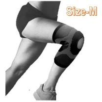 Jason เจสัน ผ้าซัพพอร์ตหัวเข่า แบบเปิด รุ่น Open Knee Black Size M