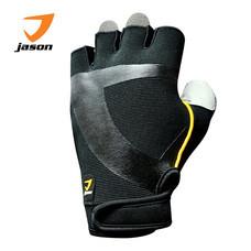 JASON FITNESS GLOVES ถุงมือฟิตเนส รุ่น X-BURNING Jr. (ไซส์ M) - สีดำ