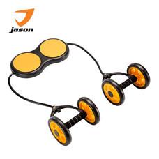 Jason X-Wheel  เอ็กซ์วีลกายบริหาร - สีดำ/ส้ม