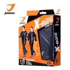 JASON ชุดออกกำลังกาย ซาวน่าสูท รุ่น X-BURN SAUNA SUIT. Free Size JS0399