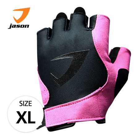 JASON FITNESS GLOVES ถุงมือฟิตเนส X-BURNING SASSY (XL)