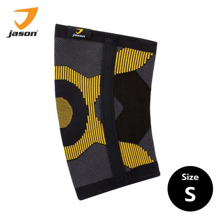 JASON จสัน ผ้าซัพพอร์ตหัวเข่า แบบมีแกนขนาบข้าง KNEE SUPPORT รุ่น เอ็กซ์ ฮีโร่ ไซส์ (S)