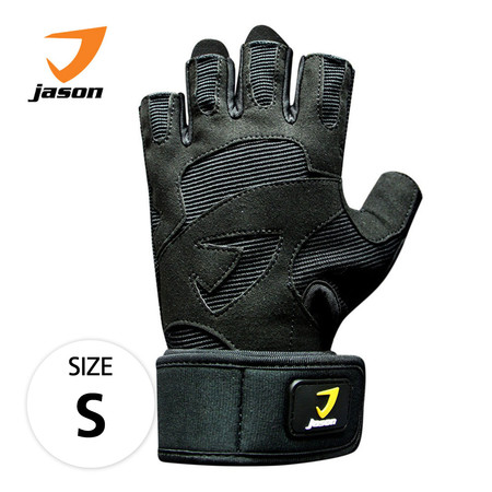 JASON FITNESS GLOVES ถุงมือฟิตเนส รุ่น X-CRAFT (ไซส์ S) - สีดำ
