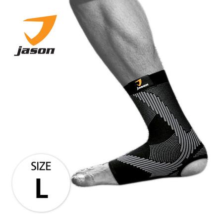 Jason เจสัน ผ้าซัพพอร์ต ข้อเท้า รุ่น Ankle Support Black Size L