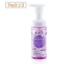 [Packx2] - Kuron มูสโฟม ทำความสะอาดผิวหน้า สูตร Age Reverse Foam Mousse KU0064 ขนาด 150 ml. KU0064