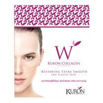 KURON แผ่นมาส์กหน้า สูตร Collagen Crystal Mask