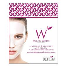 KURON แผ่นมาส์กหน้า สูตร White Crystal Mask