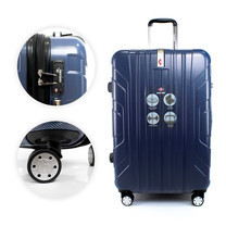SwissAirs Luggage Trolley กระเป๋าเดินทาง รุ่น KS814/24/Blue