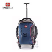 Swiss Gear - Backpack & Trolley รุ่น KW-143/18/NB Big Size (Navy Blue)