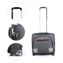 SwissAirs กระเป๋าเดินทางขึ้นเครื่อง Cabin baggage รุ่นKS907/16/Black Grey