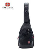 Swiss Gear กระเป๋าสะพายหน้า-หลัง รุ่น KW-132/14/BA - Black