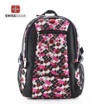 Swiss Gear กระเป๋าเป้ รุ่น KW-060/18 - Pink (ลายหินอ่อนชมพู)