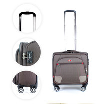 SwissAirs กระเป๋าเดินทางขึ้นเครื่อง Cabin baggage รุ่นKS906/18/Coffee