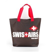 SwissAirsกระเป๋าShoppingรุ่นKS336/18/Brown ของแท้ 100% (Warranty leafletถูกต้องตามกฎหมาย) New!
