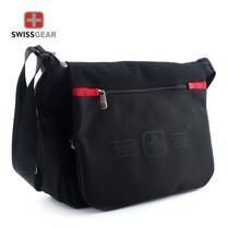 Swiss Gear กระเป๋าสะพายข้าง รุ่น KW-072/14/BA - Black