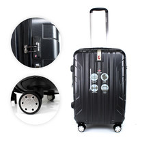 SwissAirs Luggage Trolley กระเป๋าเดินทาง รุ่น KS814/24/Black