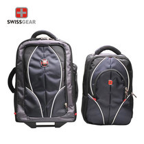 Swiss Gear Double Backpack with Trolley รุ่น KW-026 - Sapphire Blue