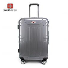 Swiss Gear กระเป๋าเดินทาง ขนาด 24 นิ้ว รุ่น Swiss Army SA005/24-Silver Grey