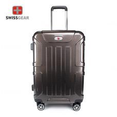 Swiss Gear กระเป๋าเดินทาง ขนาด 28 นิ้ว รุ่น Swiss Army SA005/28-Gold Silver