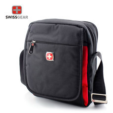 Swiss Gear กระเป๋าสะพาย รุ่น KW-106/BA/RD - Black/Red