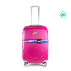 Sign1889 Luggage Trolley กระเป๋าเดินทาง รุ่น KS836/24/Pink