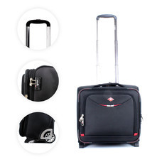 SwissAirs กระเป๋าเดินทางขึ้นเครื่อง Cabin baggage รุ่นKS904/16/Black