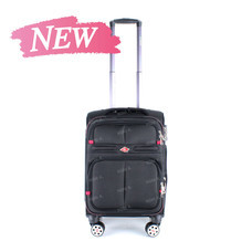 SwissAirs Luggage Trolley กระเป๋าเดินทาง รุ่น KS954/20/Black ของแท้ 100% (Warrantyถูกต้องตามกฎหมาย) New!