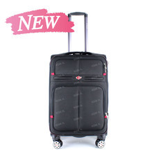 SwissAirs Luggage Trolley กระเป๋าเดินทาง รุ่น KS954/24/Black ของแท้ 100% (Warrantyถูกต้องตามกฎหมาย) New!
