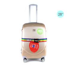 Sign1889 Luggage Trolley กระเป๋าเดินทาง รุ่น KS836/28/Gold