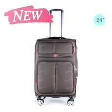 SwissAirs Luggage Trolley กระเป๋าเดินทาง รุ่น KS954/24/Coffee