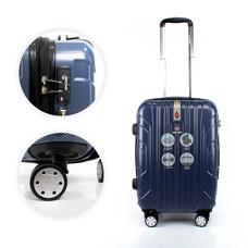 SwissAirs Luggage Trolley กระเป๋าเดินทาง รุ่น KS814/20/Blue