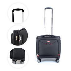 SwissAirs กระเป๋าเดินทางขึ้นเครื่อง Cabin baggage รุ่นKS905/18/Black