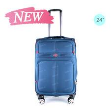 SwissAirs Luggage Trolley กระเป๋าเดินทาง รุ่น KS954/24/Bright Sky