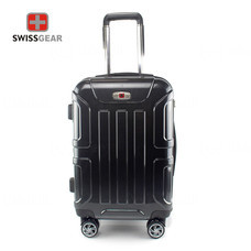 Swiss Gear กระเป๋าเดินทาง ขนาด 20 นิ้ว รุ่น Swiss Army SA005/20-Silver-Black