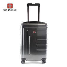 Swiss Gear กระเป๋าเดินทางแบบแข็ง ขนาด 24 นิ้ว รุ่น KW-109/24 - Black(โฉมใหม่ระบบซิป 2 ชั้น)