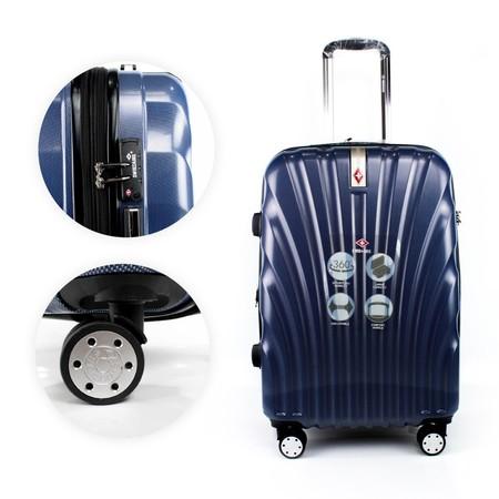 SwissAirs กระเป๋าเดินทาง รุ่น KS815/28/Blue