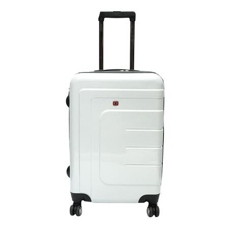 Swiss Gear กระเป๋าเดินทาง ขนาด 28 นิ้ว รุ่น KW-109/28 - White (ระบบซิป 2 ชั้น)
