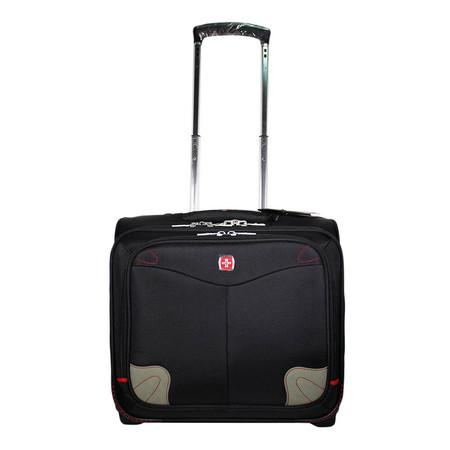 Swiss Gear กระเป๋าเดินทางสำหรับขึ้นเครื่อง รุ่น KW-041/17/BA - Black
