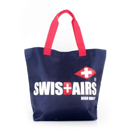 SwissAirsกระเป๋าShoppingรุ่นKS336/18/NavyBlue ของแท้ 100% (Warranty leafletถูกต้องตามกฎหมาย) New!