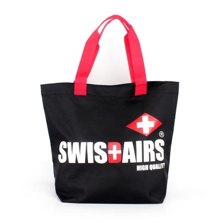 SwissAirsกระเป๋าShoppingรุ่นKS336/18/Black ของแท้ 100% (Warranty leafletถูกต้องตามกฎหมาย) New!