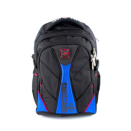 SwissAirs กระเป๋าเป้ รุ่นKS114/18/Blue