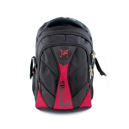 SwissAirs กระเป๋าเป้ รุ่นKS114/18/Red