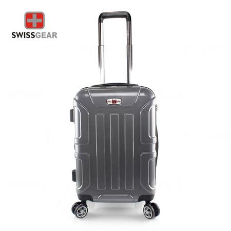 Swiss Gear กระเป๋าเดินทาง ขนาด 20 นิ้ว รุ่น Swiss Army SA005/20-Silver Grey