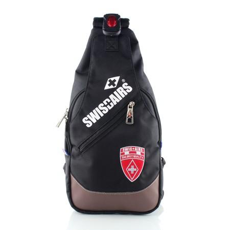 SwissAirs กระเป๋าสะพายหน้า/หลัง รุ่นKS-712/14/Blackของแท้ 100% (Warranty leafletถูกต้องตามกฎหมาย) New!