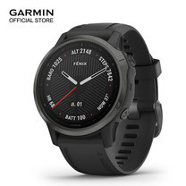 GARMIN Fenix 6S Sapphire - Carbon Gray DLC with Black Band (42mm.)
